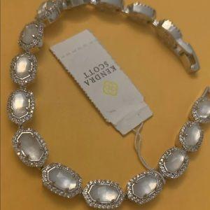 Kendra Scott Cole Gold Crystal Link Bracelet